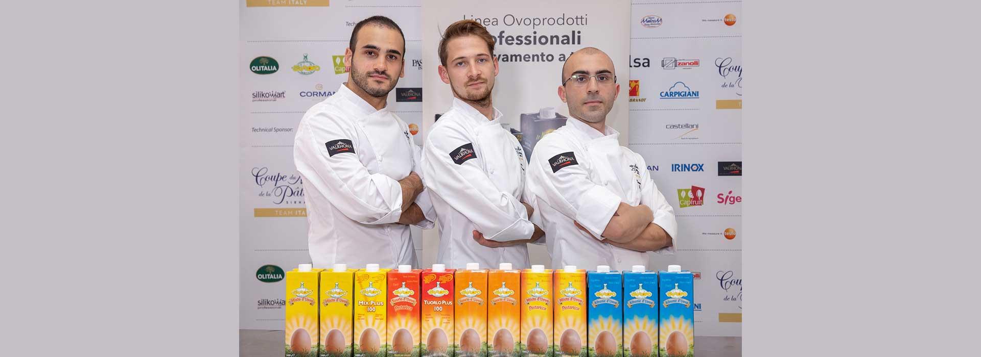 L'Italia in finale alla Coupe du Monde de la Pâtisserie