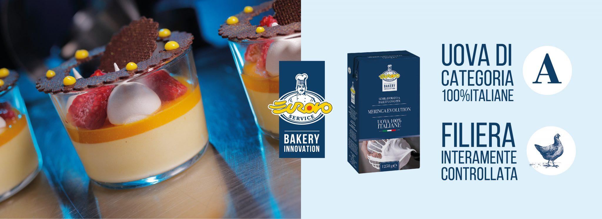 Immagine di testata dell'articolo rappresentate una preparazione fatto con i prodotti Bakery Innovation e uno dei prodotti Bakery Innovation