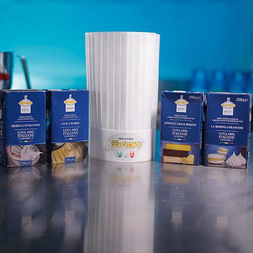 Immagine dei nuovi prodotti della linea Backery Innovation presentati a Sigep 2020